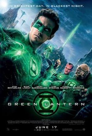 Green Lantern (film) - Theatrical release poster