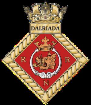 HMS Dalriada - Image: HMS Dalriada badge