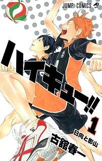 <i>Haikyu!!</i> Japanese manga and anime series