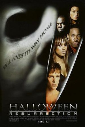 Halloween: Resurrection - Theatrical release poster