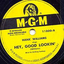 Hank Williams Hey good looking.jpg