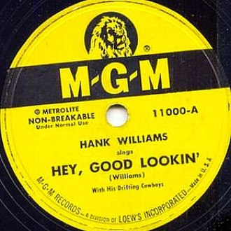 Hey, Good Lookin' (song) - Image: Hank Williams Hey good looking
