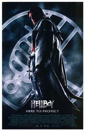 Hellboy (2004 film) - Theatrical release poster