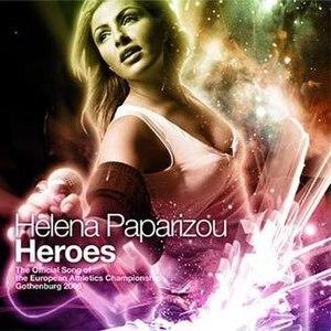 Heroes (Elena Paparizou song) - Image: Heroespaprizou