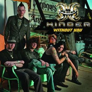 Without You (Hinder song) - Image: Hinder Without You