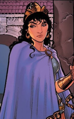 Hippolyta (DC Comics) - Image: Hippolyta DC Comics Rebirth Wonder Woman (Vol. 5) No. 2 (2016)