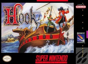 Hook (video game) - Cover art for the SNES version