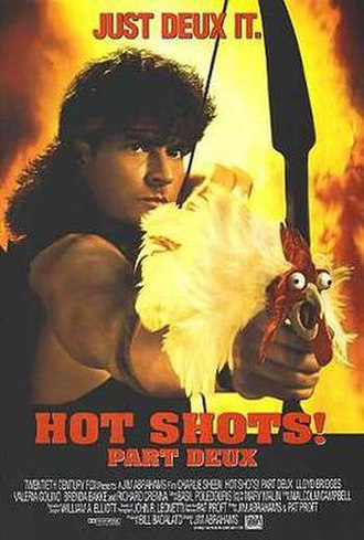 Hot Shots! Part Deux - Theatrical release poster