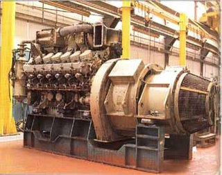 Paxman Valenta diesel engine