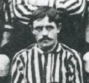 Hughie Clifford - Hugh Clifford in Stoke team photo