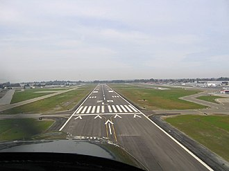 Hayward Executive Airport - Image: Hwd final