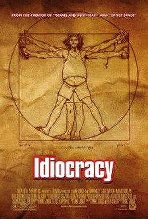 Idiocracy - Image: Idiocracy movie poster