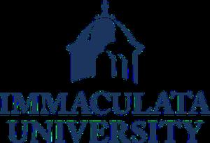 Immaculata University - Image: Immaculata University logo