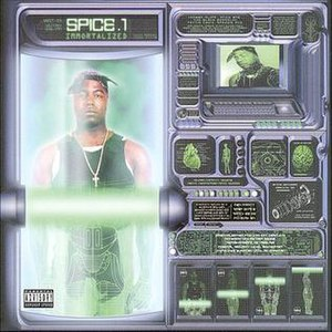 Immortalized (Spice 1 album) - Image: Immortalizedalbum