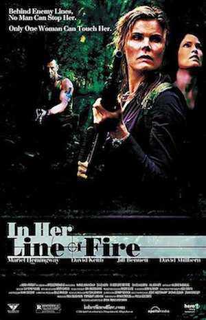 In Her Line of Fire - Promotional poster