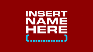 Insert Name Here - Image: Insert Name Here