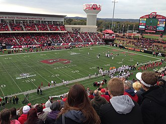 Houchens Industries–L. T. Smith Stadium - Image: Insidesmith