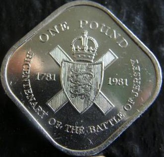 Jersey pound - The 1981 square pound