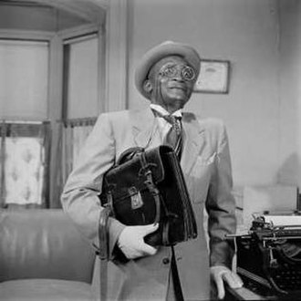 Jester Hairston - Jester Hairston as Henry Van Porter on   The Amos 'n' Andy Show, 1951.