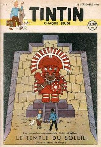 Prisoners of the Sun - Image: Journal de Tintin Le Temple du Soleil