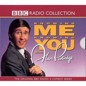 Knowing Me Knowing You with Alan Partridge (radio series) - Cover of CD release