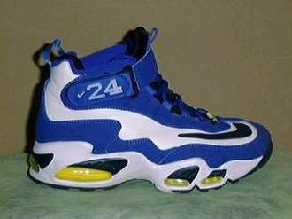 Ken Griffey Jr. - One of Ken Griffey Jr.'s signature sneakers, the Nike Air Griffey Max.