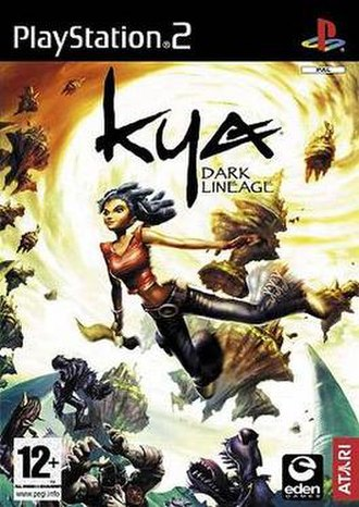 Kya: Dark Lineage - Image: Kyagamecover