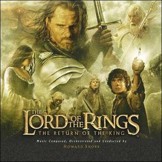 The Lord of the Rings: The Return of the King (soundtrack) - Image: LOTR3 soundtrack