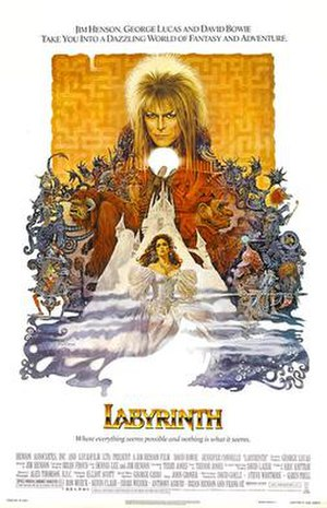 Labyrinth (film) - Theatrical release poster