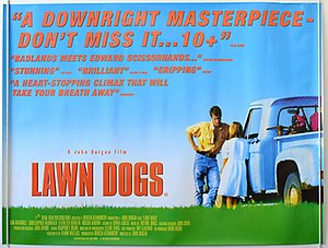 Lawn Dogs - Theatrical release poster