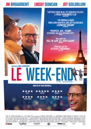 Le Week-End - British release poster