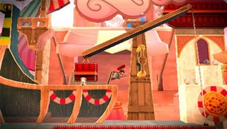 LittleBigPlanet (2009 video game) - A screenshot of LittleBigPlanet