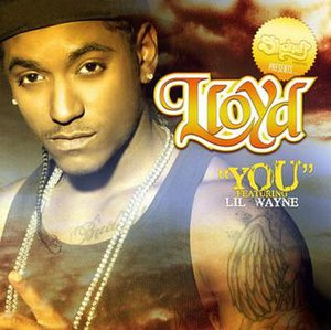 You (Lloyd song) - Image: Lloyd you single cover