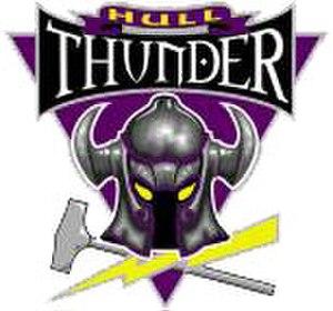 Hull Thunder - Image: Logo Hull Thunder
