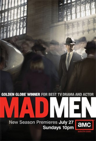 Mad Men (season 2) - Image: Mad Men Season 2, Promotional Poster