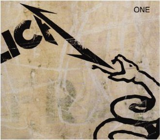 One (Metallica song) - Image: Metallica One (live) cover