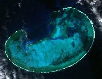 Elizabeth and Middleton Reefs Marine National Park Reserve - Image: Middleton Reef