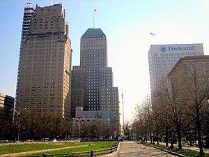 Downtown Newark - Military Park in Downtown Newark