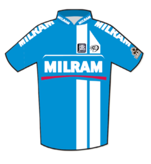 Team Milram - Image: Milram Jersey 2007 Tour de France
