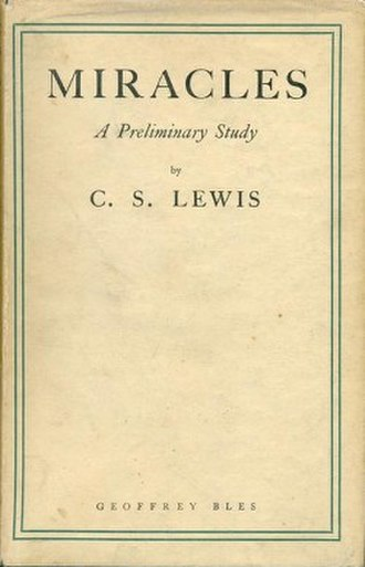 Miracles (book) - First edition (1947)