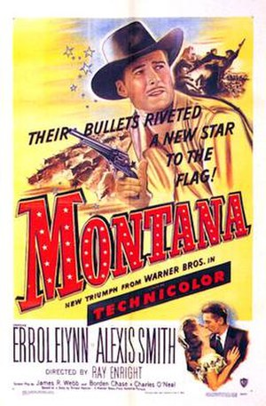 Montana (1950 film) - 1950 Theatrical Poster