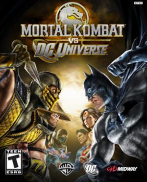 Mortal Kombat vs. DC Universe - Image: Mortal Kombat vs. DC Universe Coverart