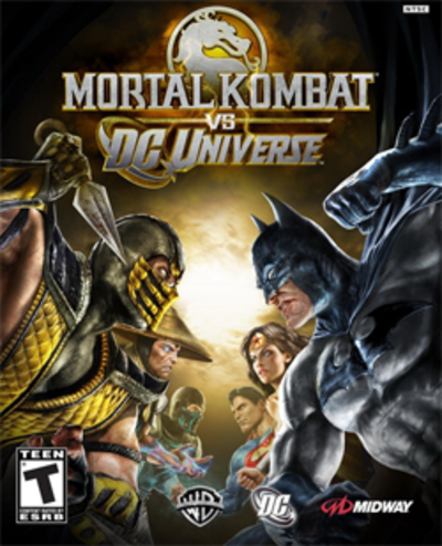 Picture of a game: Mortal Kombat Vs. Dc Universe
