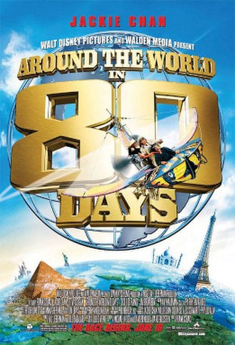 Around the World in 80 Days (2004 film) - Theatrical release poster