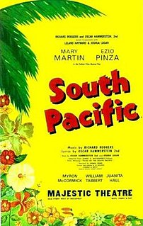 <i>South Pacific</i> (musical) 1949 Broadway musical