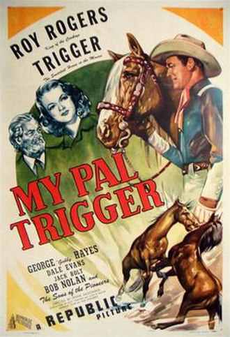 My Pal Trigger - Original film poster