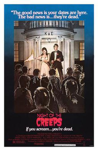 Night of the Creeps - Theatrical release poster