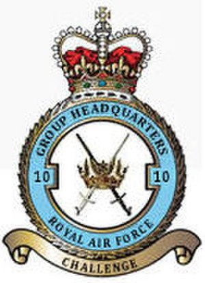 No. 10 Group RAF - Image: No 10 Group RAF Crest