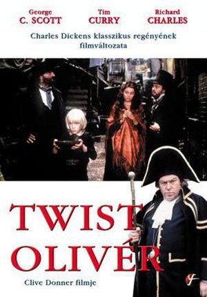 Oliver Twist (1982 TV film) - Image: Oliver Twist Video Cover