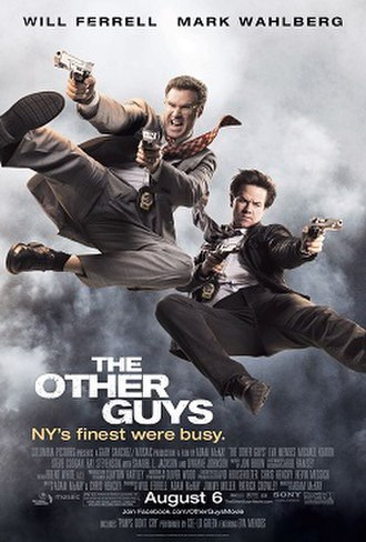 The Other Guys - Theatrical release poster